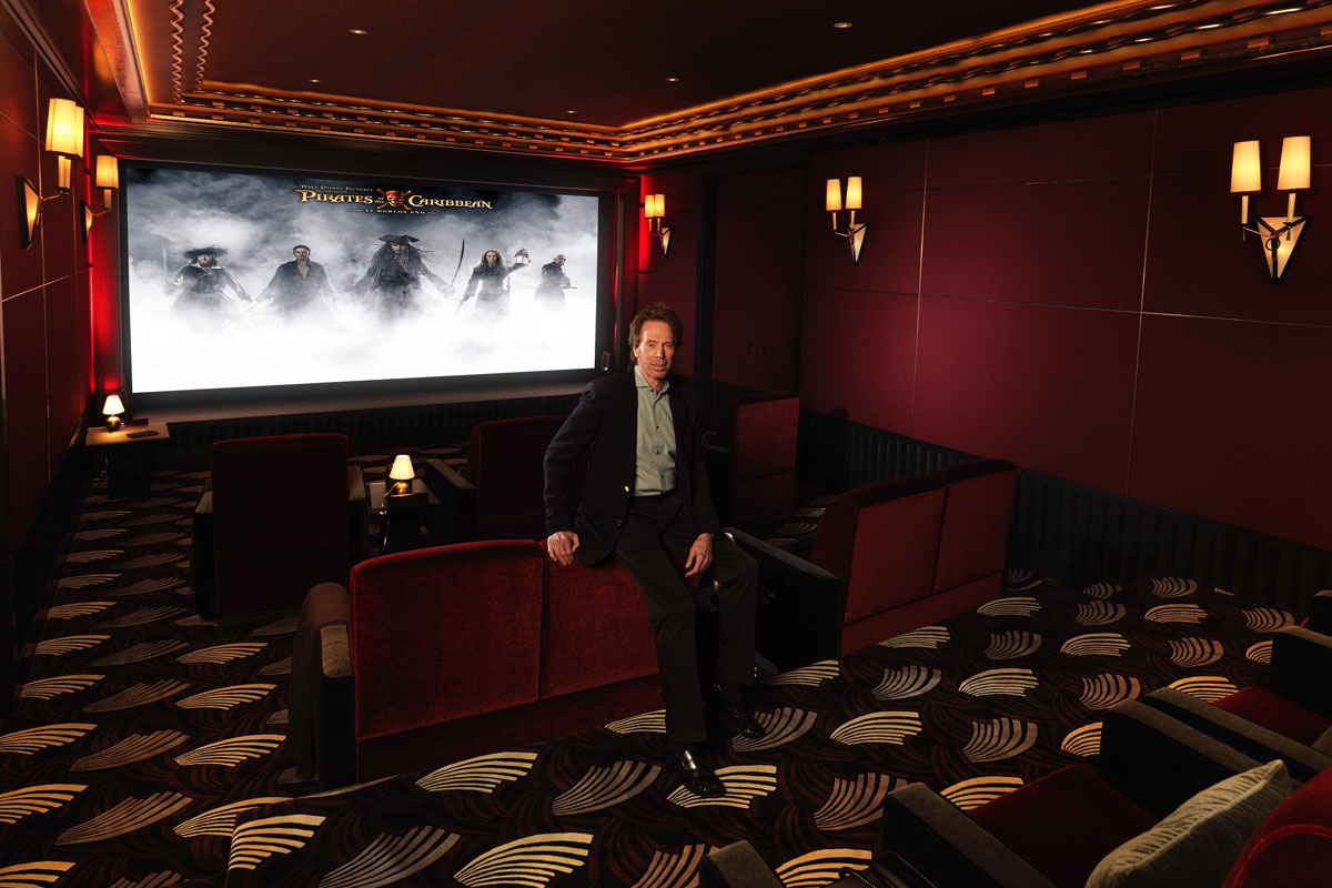 Bruckheimer Bel Air Circuit Theater by DSI Featured In Electronic House