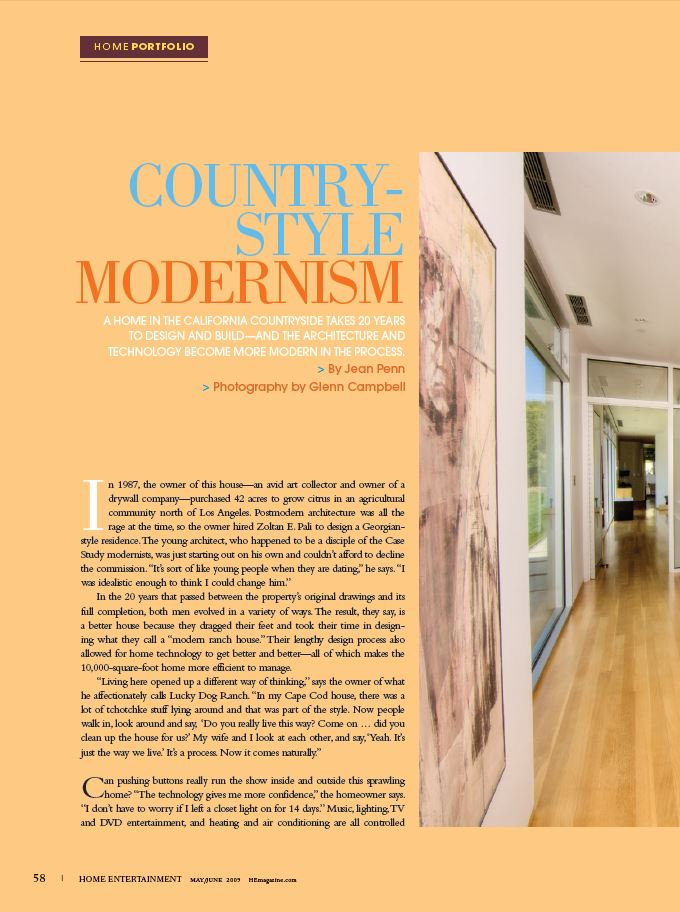Country- Style Modernism